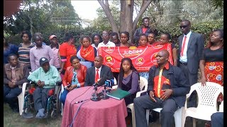 Jubilee party members in Nakuru disagree on the list of those to be nominated as MCAs