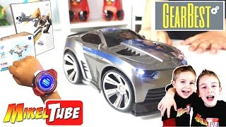 Unboxing GearBest Smart Watch voice car  Transformers y Mini FPV drone Cx 10