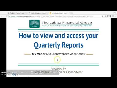 How to Access Your Quarterly Report