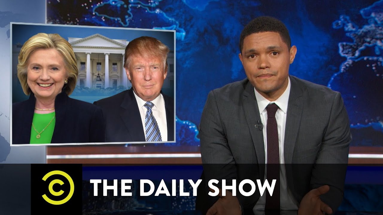 Hillary Clinton or Donald Trump: Two Very Lucky Nominees: The Daily Show