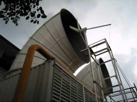 wind eneryg air cooling tower