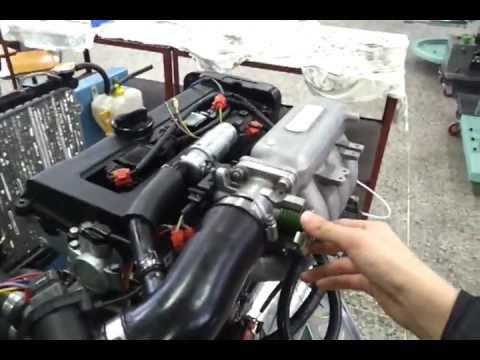 96 HYUNDAI ELANTRA AVANTE 1.5 DOHC engine