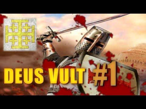 DEUS VULT - Medieval 2 Crusades - Kingdom of Jerusalem #1