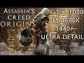 Assassin's Creed  Origins - Gtx 1070 - 1440p (Ultra Detail)