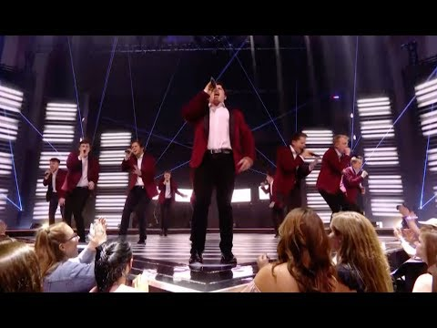Semi-Toned - The Chain | 'Sing: Ultimate A Cappella' on Sky 1