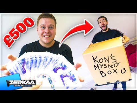 I Gave My Friend £500 To Make Me a Mystery Box