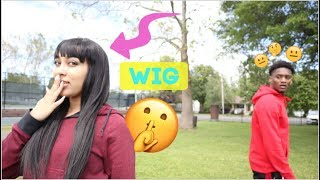 Wearing A Wig In Public To See If My BOYFRIEND Notices Me!