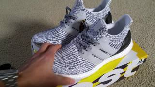 1f8a091fc Latest 3.0 Release Drop 2 1 2017 Adidas Ultraboost Oreo Zebra On Feet Foot  Kanye West Full HD 2017