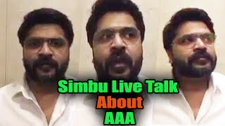Simbu Live Talk About AAA Flop | I'm Happy About AAA | STR Fans Not Happy With Simbu's AAA