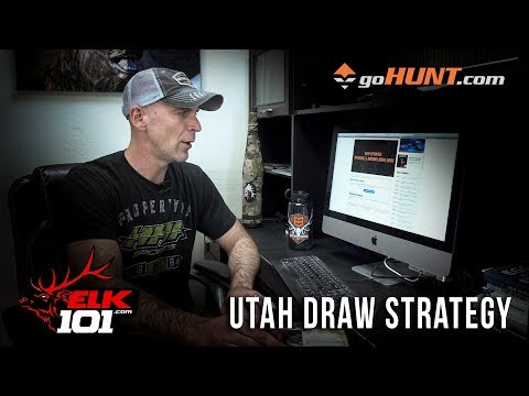 Applying For An Elk Tag In UTAH - Corey's Application Strategy 2019