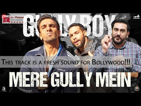 Mere Gully Mein | Gully Boy | Ranveer Singh, DIVINE, Naezy | Reaction