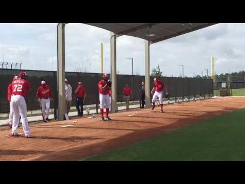 Enny Romero, Tanner Roark and Stephen Strasburg throw first bullpen sessions