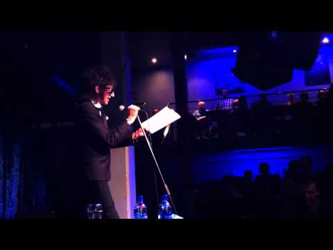 John Cooper Clarke - Things Are Going To Get Worse - Jazz Cafe London, 8 October 2011
