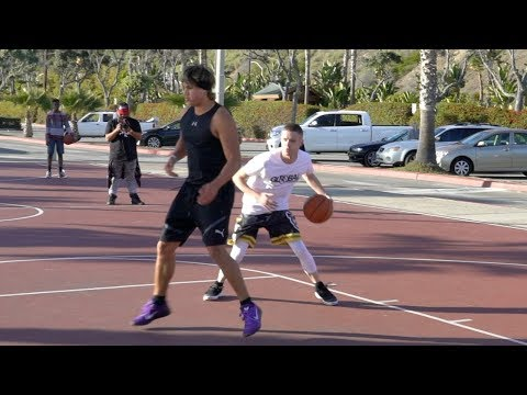 Professor 1v1 vs Super Confident Hooper.. Gets Crossed Hard then redeems [$10,000 Scooters]