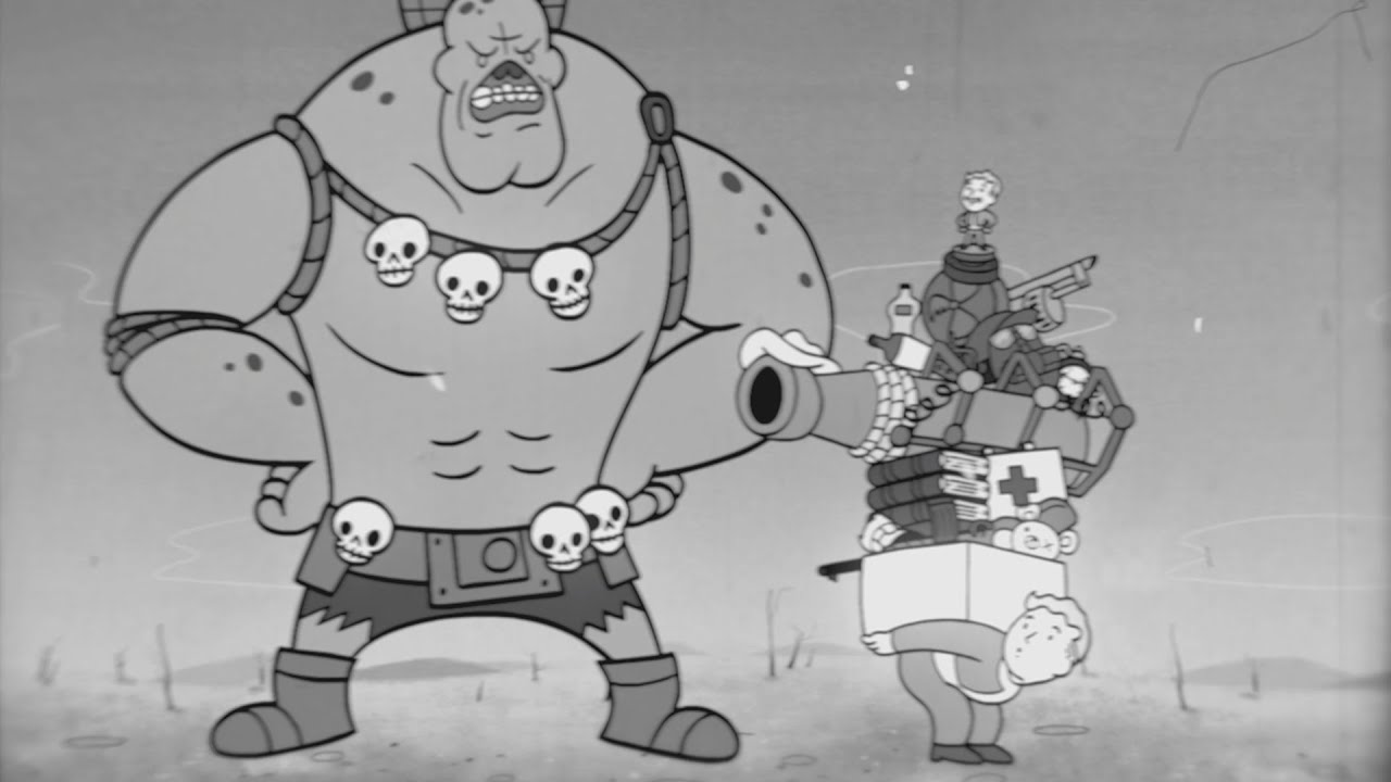 Turning Fallout 4's world into 1950s-style animations - Kill