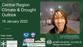 January 2020 North Central U.S. Monthly Climate and Drought Summary and Outlook