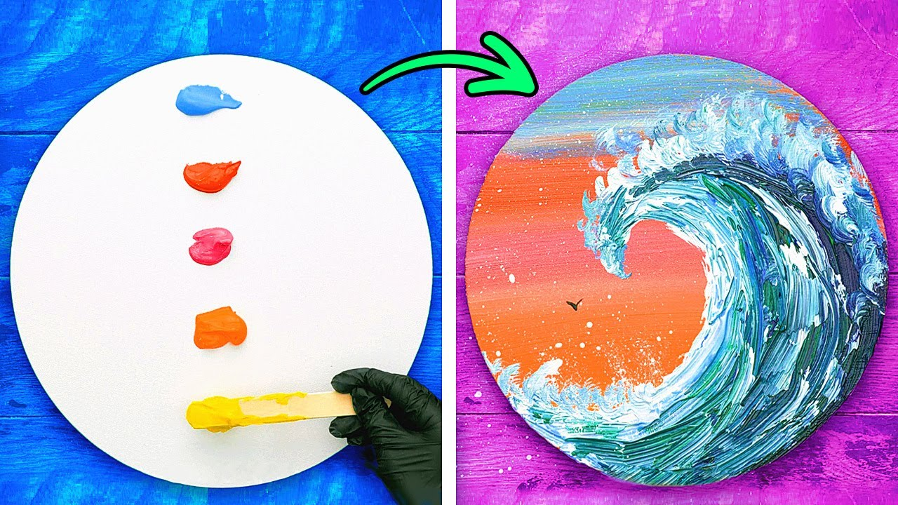 Brilliant PAINTING TECHNIQUES For Beginners || Simple Tips to Improve Your Painting Skills!