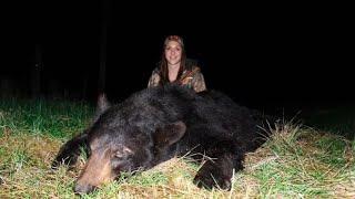 2016 Black Bear Hunt - Ash's Bear - Interlake Outdoors