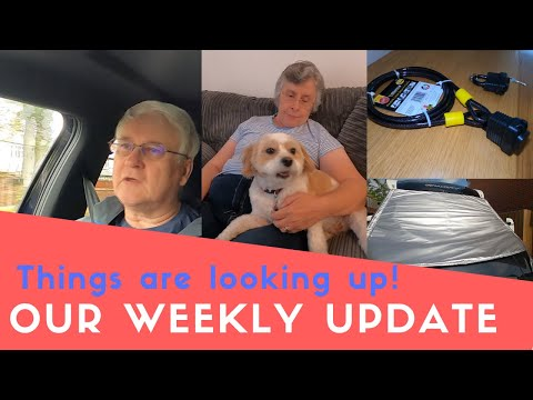 Weekly Update | Taylormade Long Screen Cover | Dog Grooming | Lock On Spare Wheel |