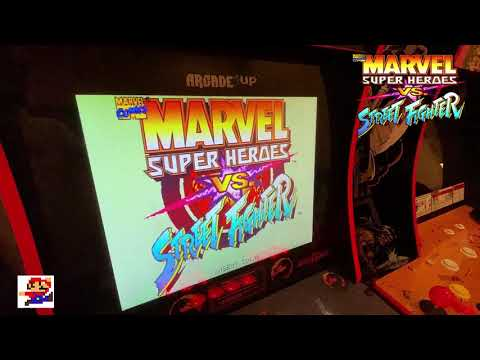X-Men Vs Street Fighter Vs Marvel Vs Capcom. Arcade1UP Head to Head face off - which is best? from Robs Retro Reviews