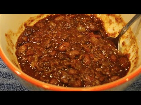 CHILI/ WORLDS BEST HOME MADE BEEF CHILI RECIPE/CHERYLS HOME COOKING/EPISODE 596