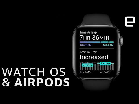 Apple WWDC 2020:  AirPods and WatchOS updates in 3 minutes