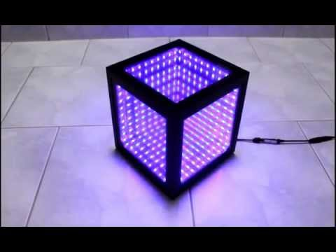 How To Make An Led Illusion Mirror With Frame Doovi