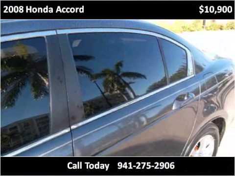 2008 honda accord used cars bradenton florida youtube for Srq motors bradenton fl