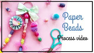 INSD Paige Evans Hop - Scrapbooking Process - Paper Beads And Tassel Process