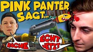 Fortnite Pink Panter sagt ... Monte und Pain prügeln sich mal wieder