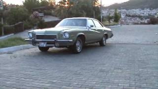 classic american Buick regal.