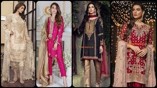 latest & stylish party wear dr…