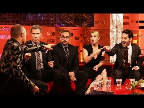 ANCHORMAN 2 Cast Does Spoof News Headlines - The Graham Norton Show on BBC AMERICA
