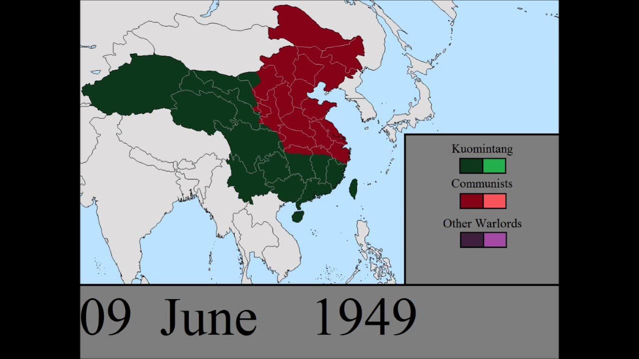 The Chinese Civil War Part 2: Every Day - YouTube