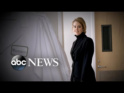 Disgraced Theranos founder