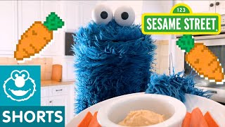 Sesame Street: Try Hummus and Carrots with Cookie Monster | Cookie Monster Snack Chat #3