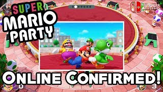 Super Mario Party - ONLINE Game Mode CONFIRMED!