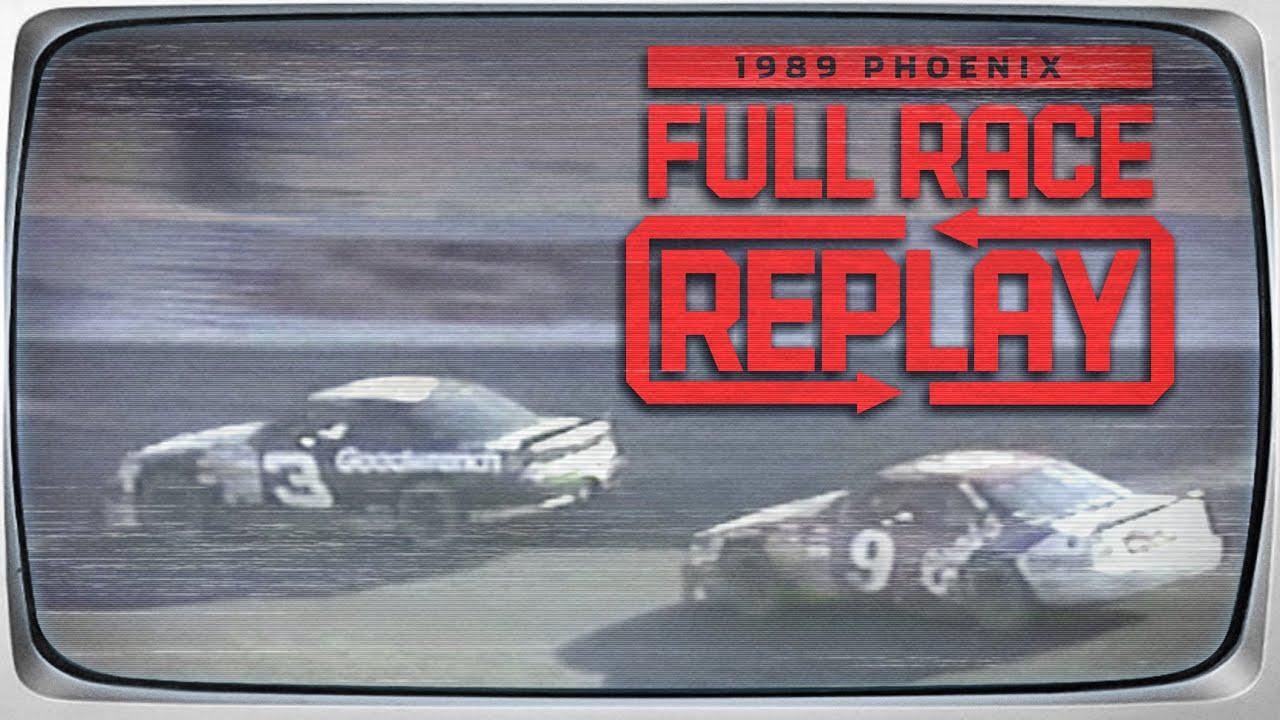 Bill Elliott dominates 1989 Autoworks 500 from Phoenix Raceway   NASCAR Classic Full Race Replay