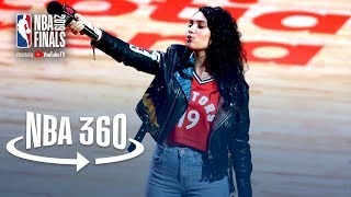 NBA 360 | Alessia Cara Leads Fans in Singing 'O Canada' | 2019 NBA Finals