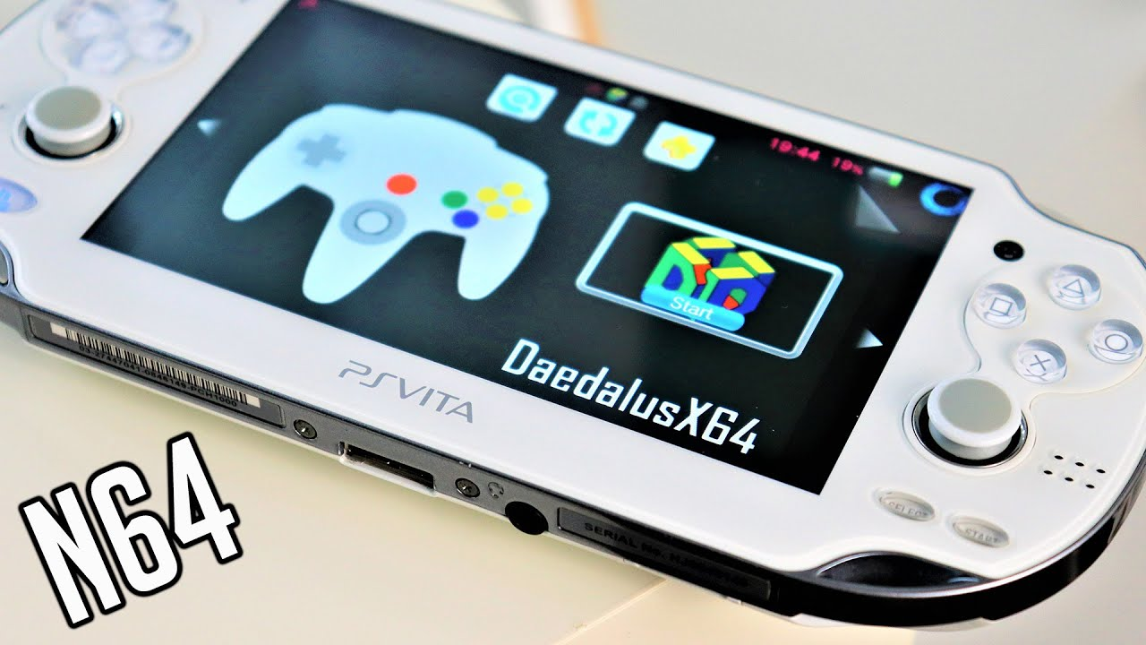 PS Vita Hacks: How To Fix Daedalusx64 Emulator For PS Vita - Error Solved - C2-12828-1   August 2020