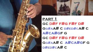 TAKE FIVE - TUTORIALES PARA EL SAX ALTO - SANTIAGO PACHECO