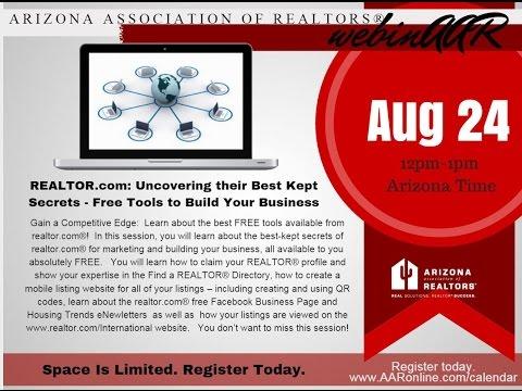Uncovering REALTOR.com Best Kept (FREE) Secrets 8.24.2016