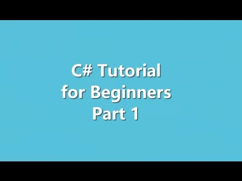 C# Tutorial for Beginners Part 1|| Introduction with First Program (Bangla, Bengali)