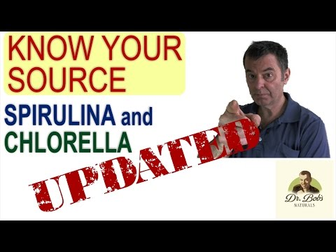 Know Your Source of Chlorella and Spirulina   UPDATED