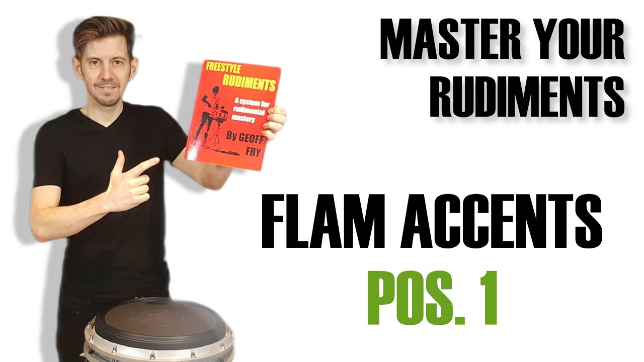 Learn the Flam Accent Rudiment in Position 1