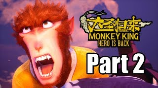 Monkey King: Hero is Back (2019) PS4 PRO Gameplay Walkthrough Part 2 (No Commentary)