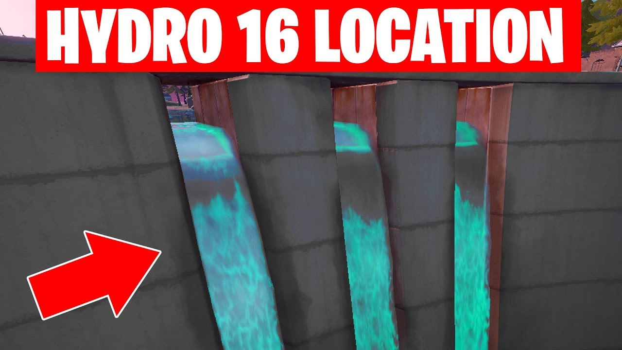 hydro 16 location Fortnite - Eliminations at Hydro 16 or ...