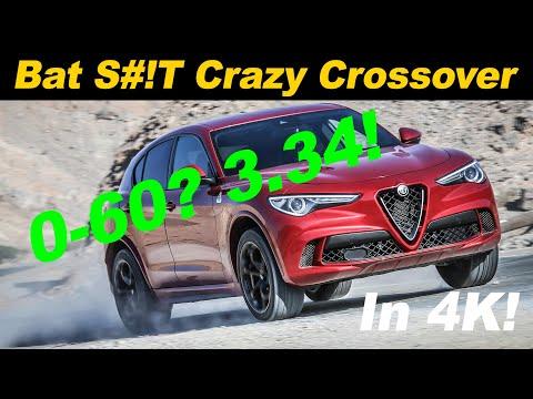 2019 / 2020 Alfa Romeo Stelvio Quadrifoglio | Crazy With Cargo Room