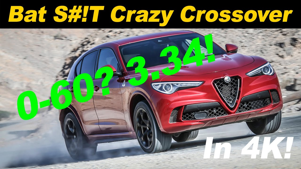 2019 Alfa Romeo Stelvio Quadrifoglio Review Youtube