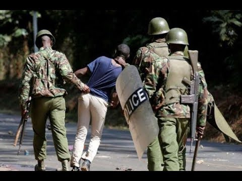 Kenya Police Service accused of sliding into a police force after UoN assault